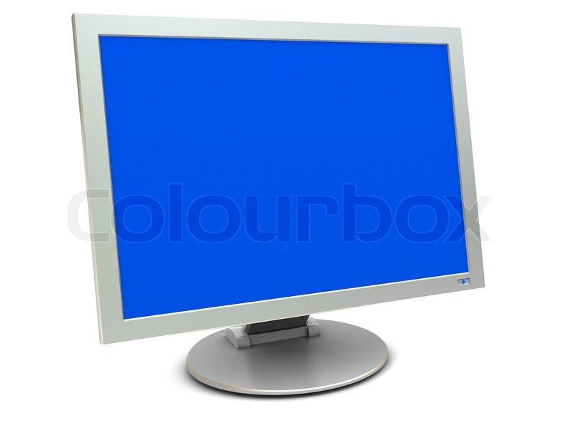 شاشة الكومبيوتر