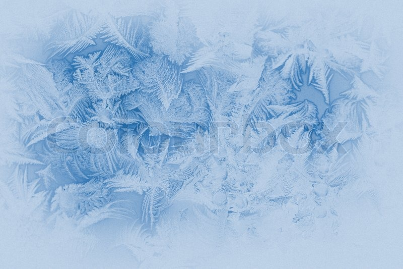 Stock photo 9 M images High quality images for web & print Beautiful frost pattern on a window glass...