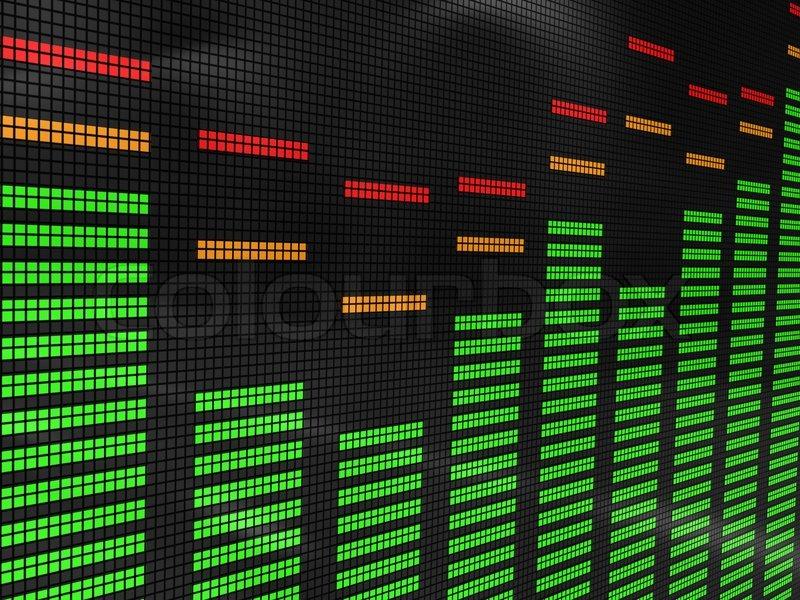 Spectrum Background Audio Spectrum Background