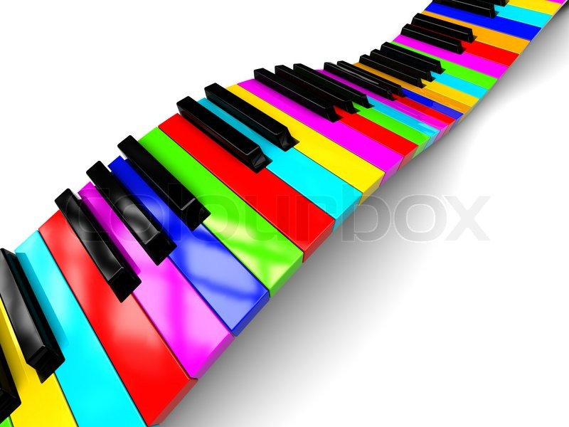 Abstract grunge music background with piano keys on red stock vector: becuo.com/colorful-piano-key-backgrounds