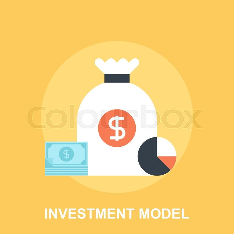 Vector illustration of investment model flat design concept ...