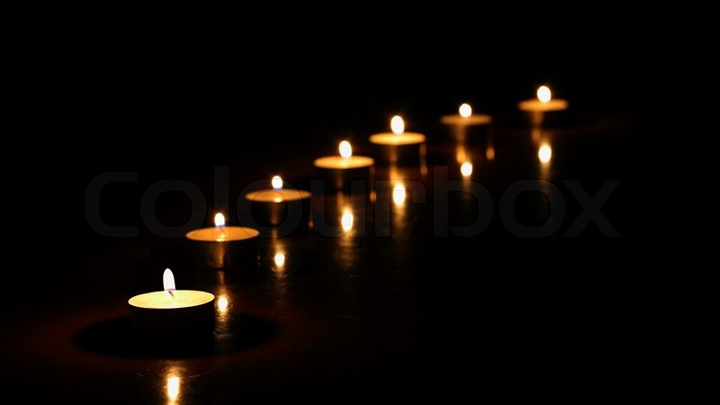 Candles In The Night Line Of
