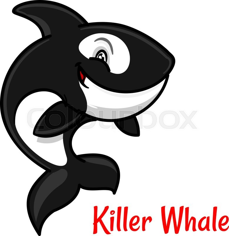Killer whale | Stock Vector | Colourbox