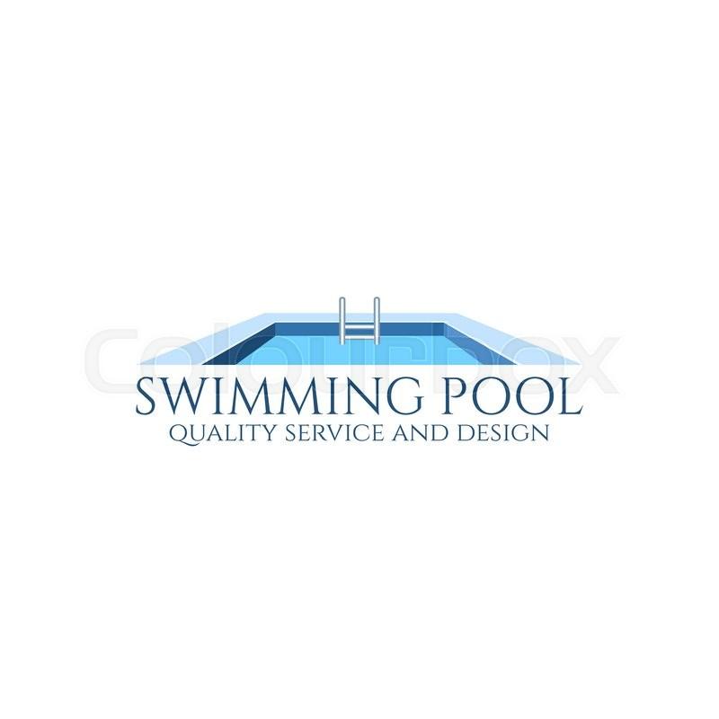 pool service logo. Stock Vector Of \u0027Swimming Pool Service And Design Logo. Illustration.\u0027 Logo O