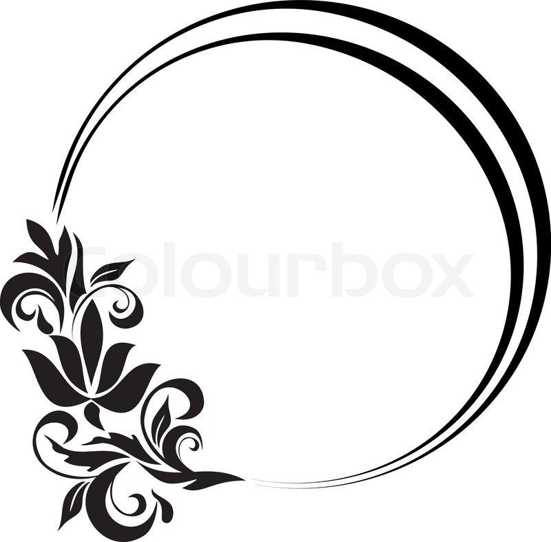 vintage frame design oval. \ Vintage Frame Design Oval Colourbox