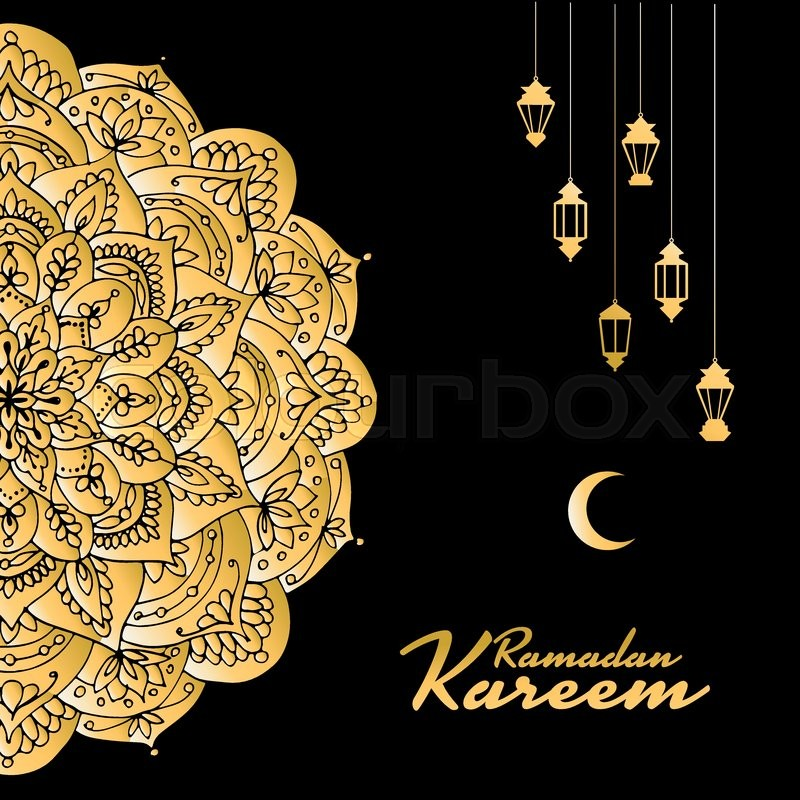 Traditional ramadan kareem month celebration greeting card design stock vector of traditional ramadan kareem month celebration greeting card design vector illustration m4hsunfo