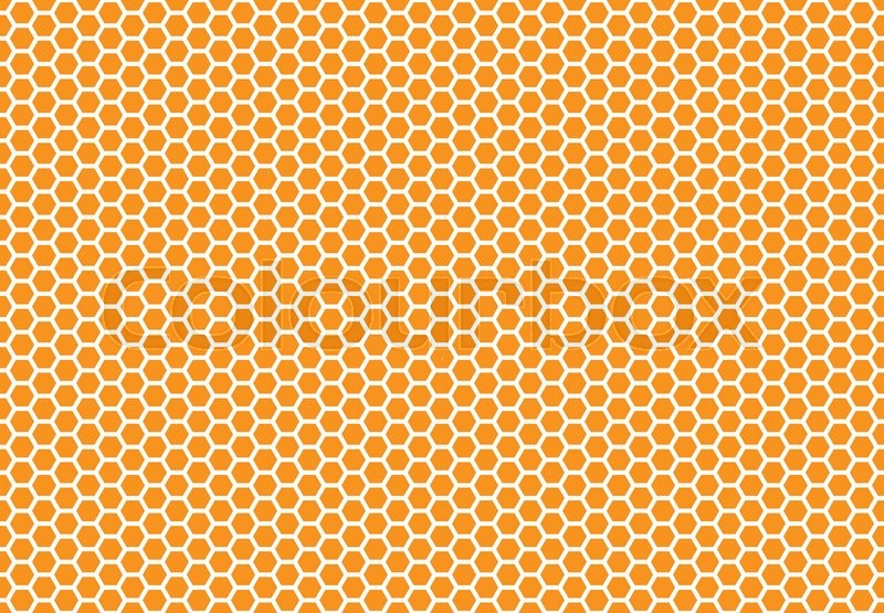 Honeycomb Seamless Background Simple Seamless Pattern Of Bees Custom Bee Pattern