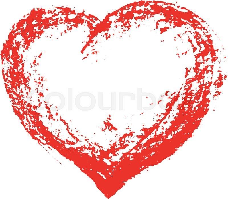 grunge heart red heart heart shape distressed heart heart rh colourbox com heart shaped leaf vector vector heart shape illustrator free download