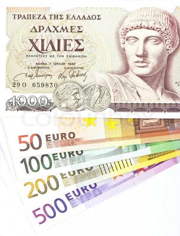 Griechische Geldscheine