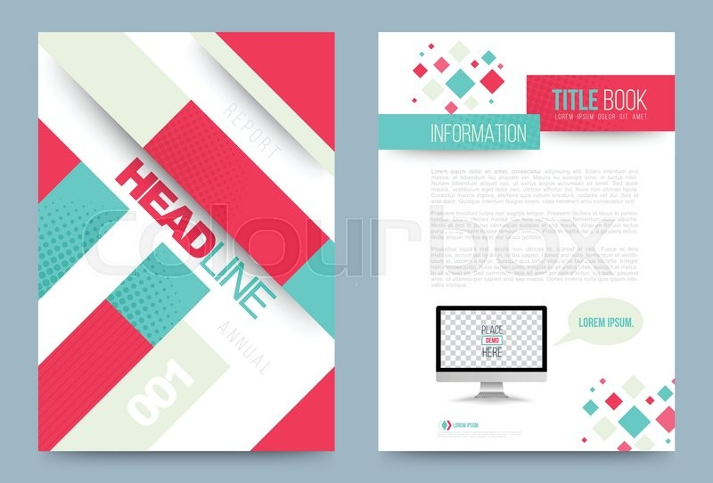 vector cover design template simply and elegant style can use for flyer brochure annual report magazine book poster printing press and web