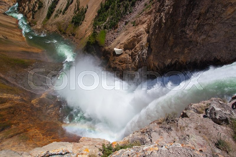 Stock foto af 'yellowstone, wyoming, vand'