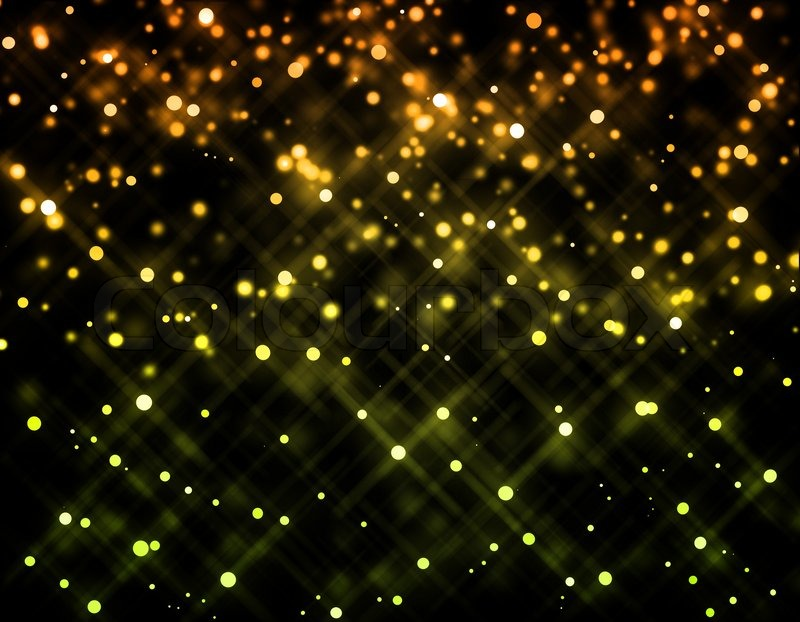 Glitter of color christmas lighting background Stock Photo