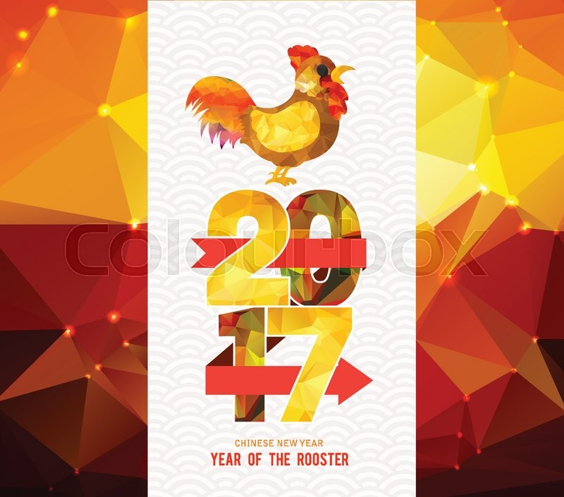 ... of 'Happy Chinese New Year 2017 Greeting Card. Year of the Rooster