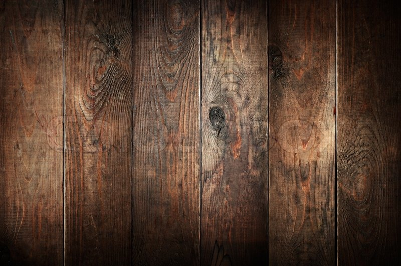 Old Weathered Wood Planks Abstract Background Stock