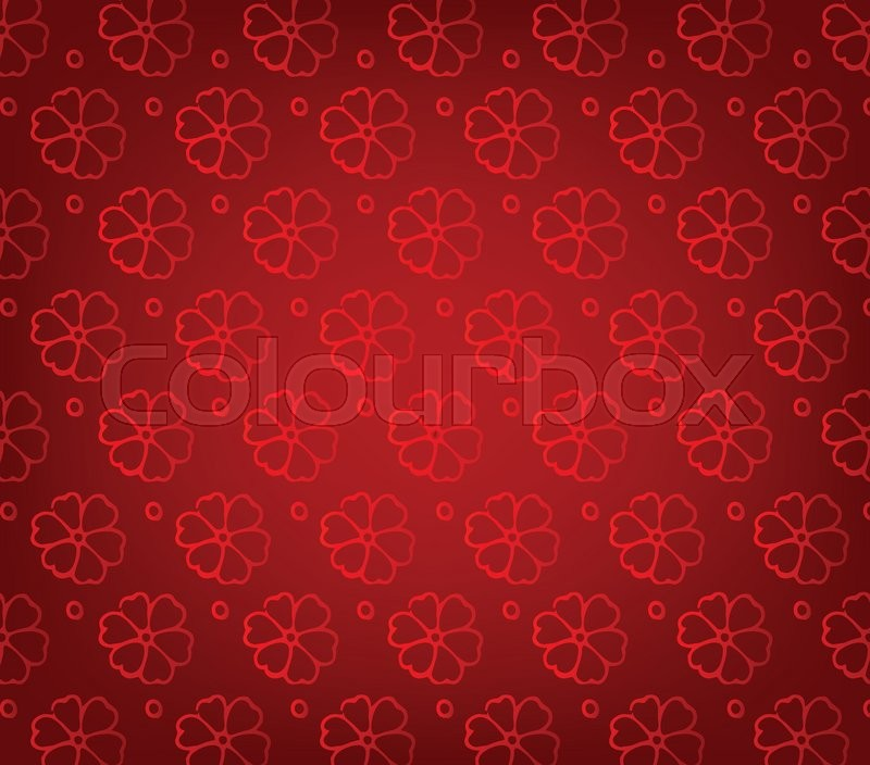 Oriental Chinese New Year Pattern Background Stock Vector Colourbox