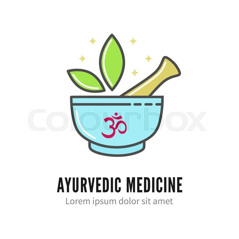 Mortar And Pestle Alternetive Ayurvedic Medicine Logo