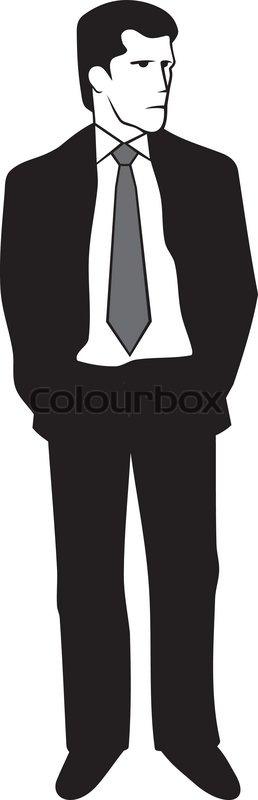 anzug cartoon