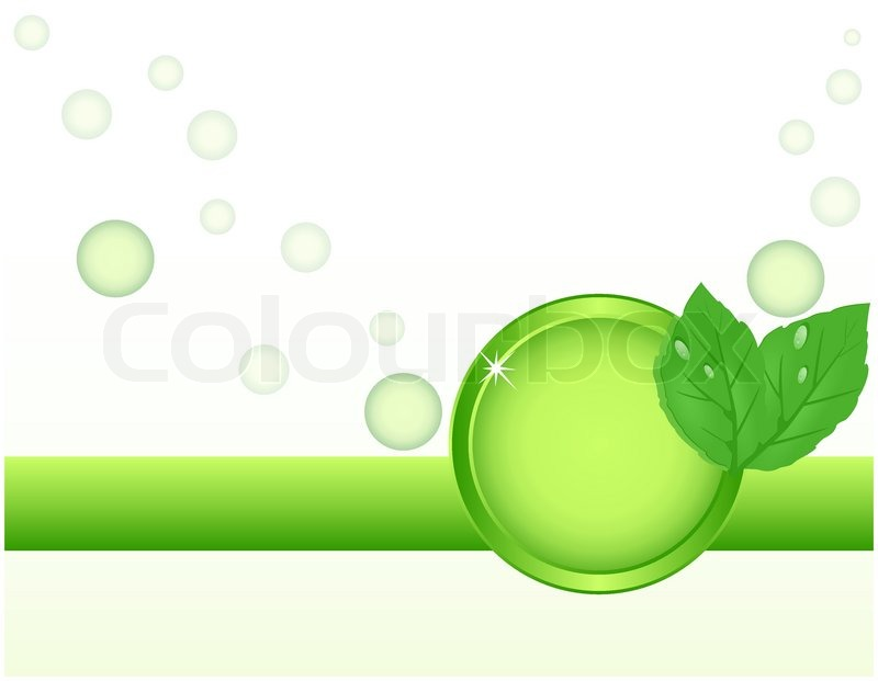 Photo Collection Green Abstract Ecology Background
