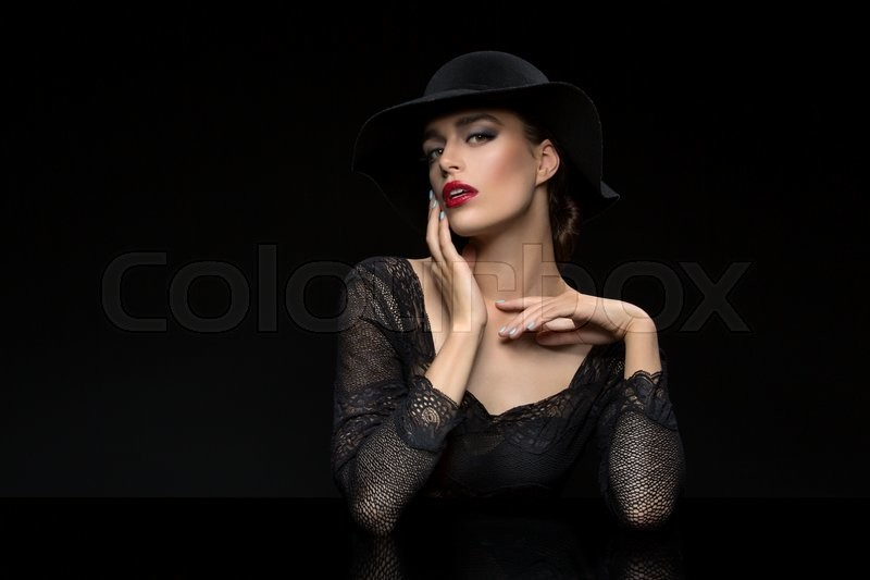 Stock Bild von 'model, fashion, mode'