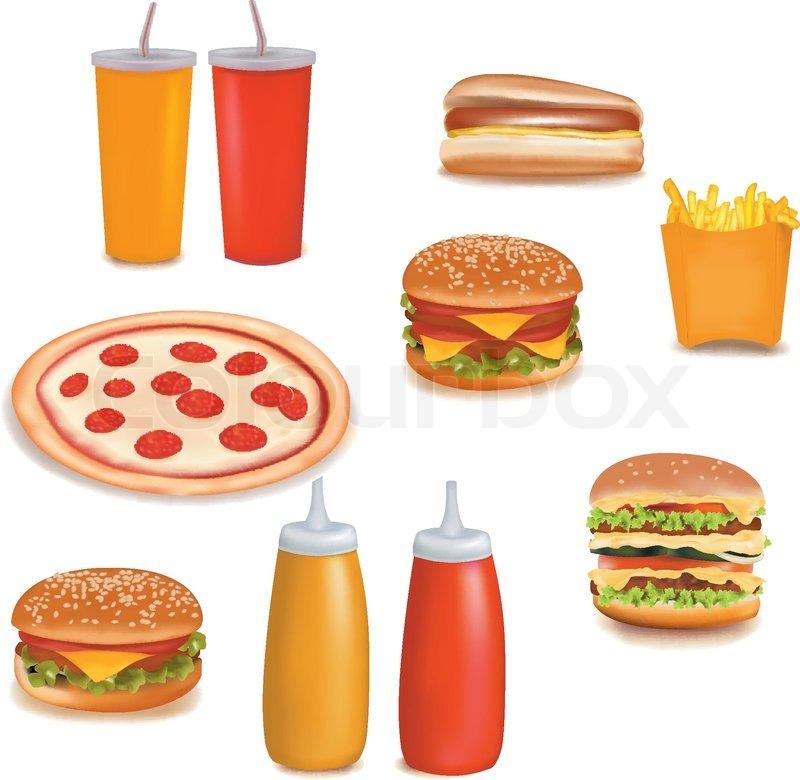 Cliparts Food Group Bi...