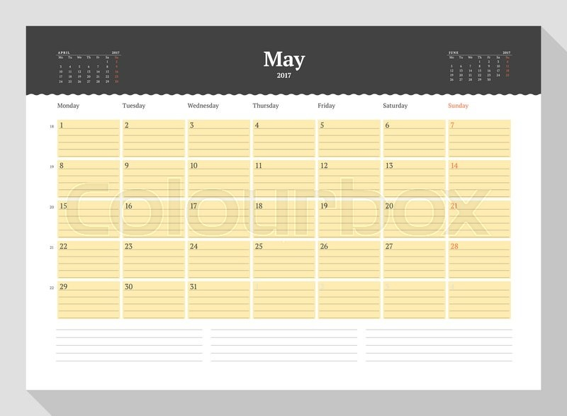 Calendar template for 2017 year may business planner 2017 template calendar template for 2017 year may business planner 2017 template stationery design week starts monday 3 months on the page friedricerecipe Choice Image