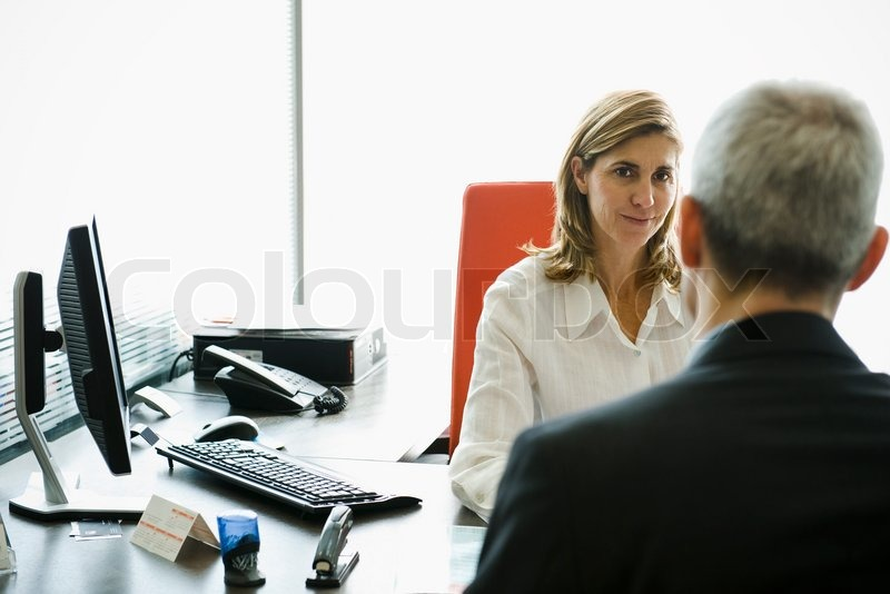169 Eric Audras Altopress Maxppp Businesswoman Meeting With