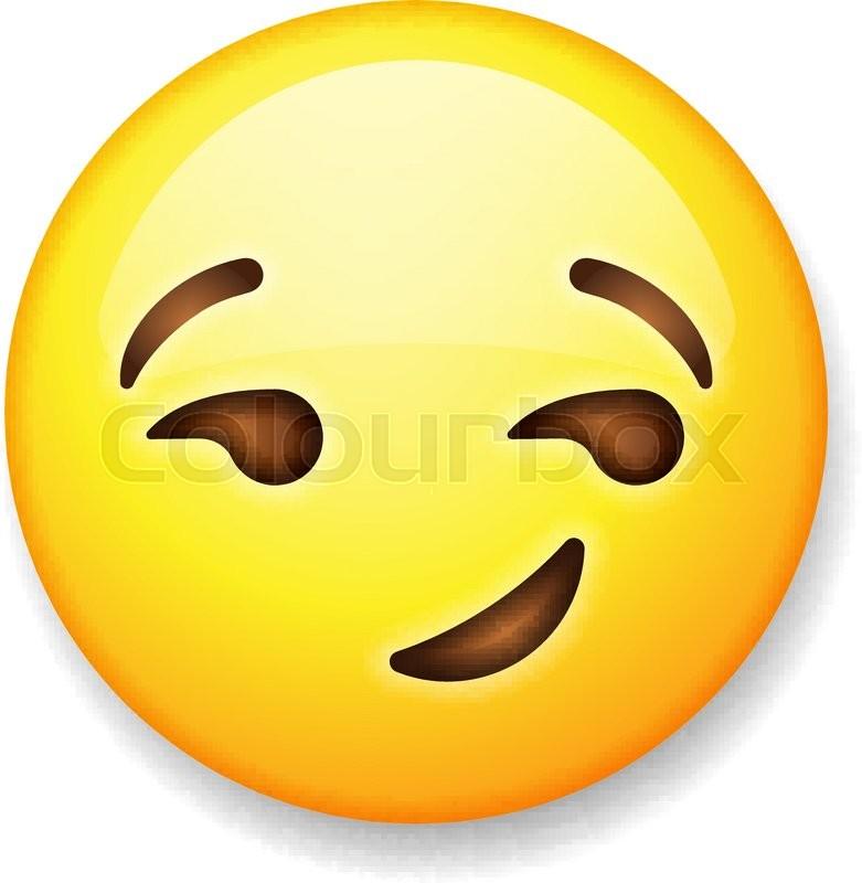 Smirk emoticon
