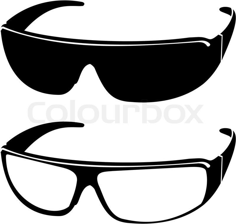 229e75c6afc1 Vektor billeder af solbriller - mode