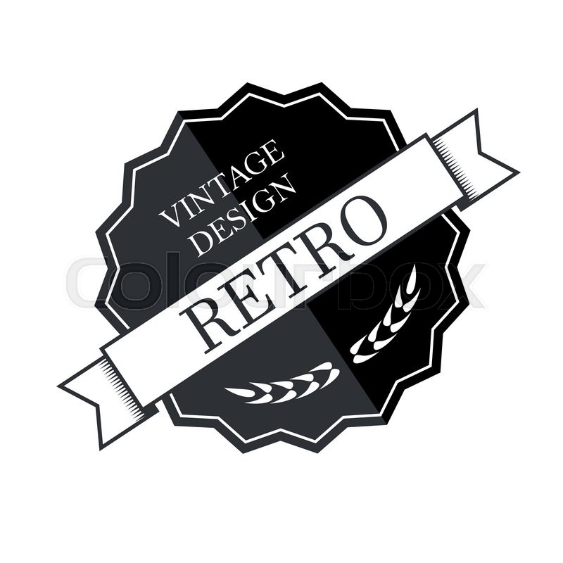 Retro vintage logo template vector design element business sign retro vintage logo template vector design element business sign vector flashek Choice Image