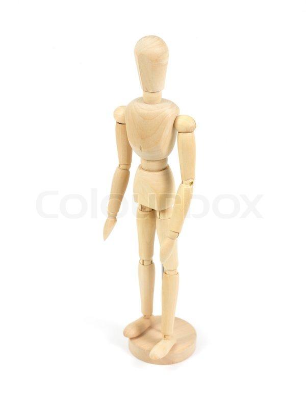 træ mannequin