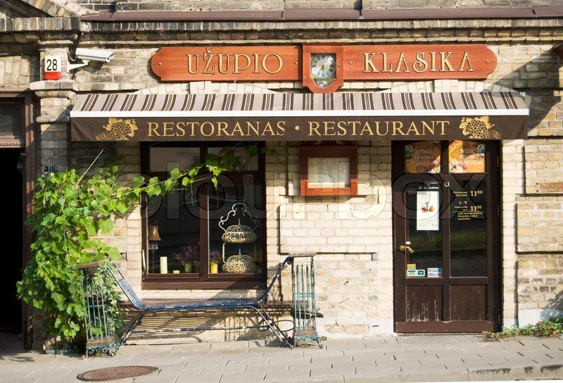 Restaurant Rue De Berne
