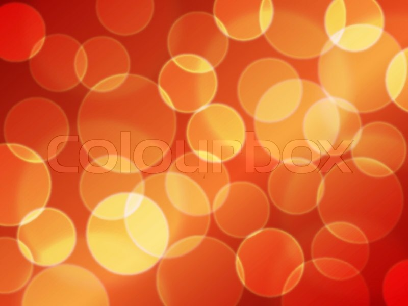 Abstract Red And Yellow Vector Stock Vector Colourbox