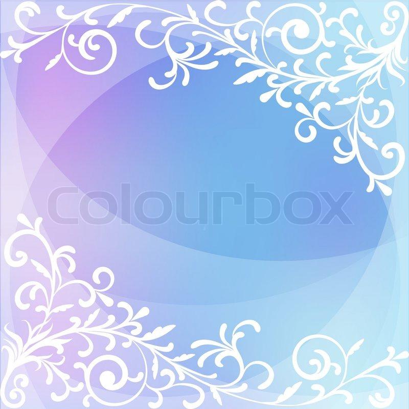 Abstrakt blau Weihnachten Vektor Hintergrund bunt clipart ...