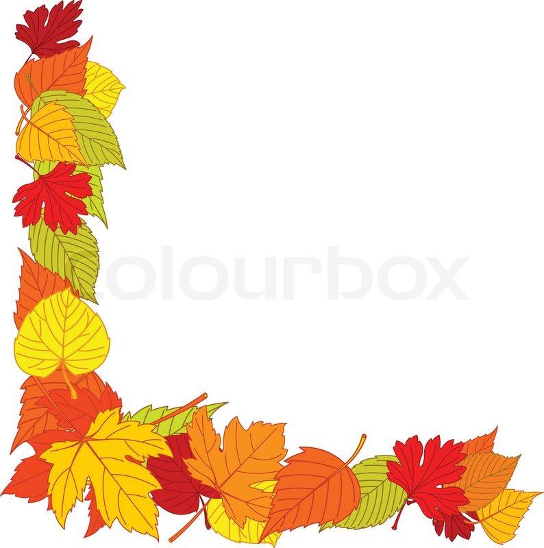 free clip art borders autumn leaves - photo #46