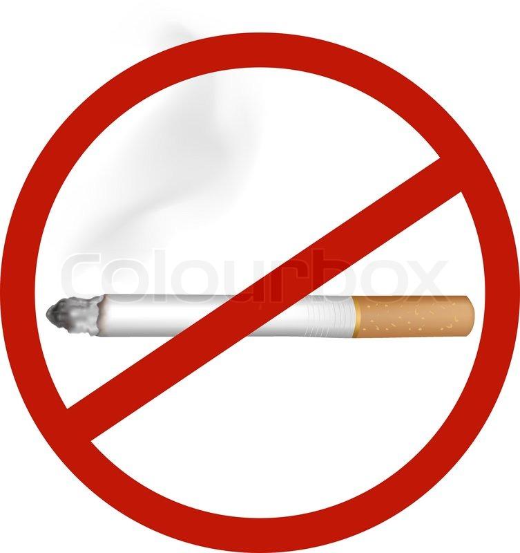 no smoking vector stock vector colourbox rh colourbox com no smoking vector free no smoking vector image