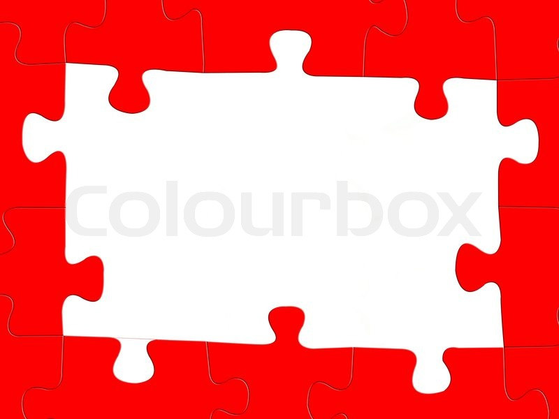 Jigsaw Puzzle Pieces Coming Together Jigsaw Puzzle Pieces Isolated