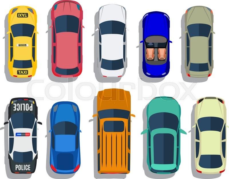 Car Vector Top