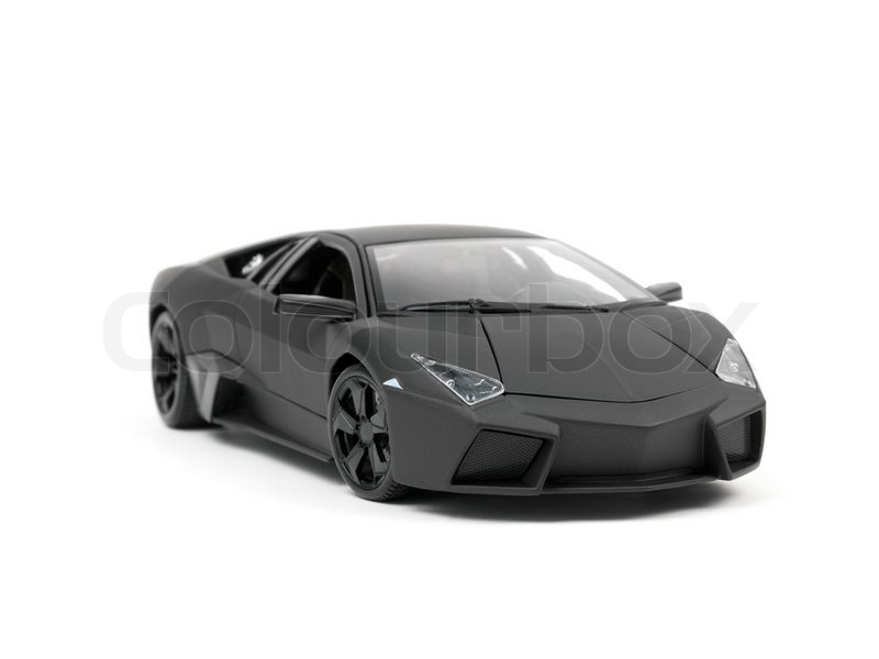 A Lamborghini Reventon Model Car Isolated Against A White Background |  Stock Photo | Colourbox