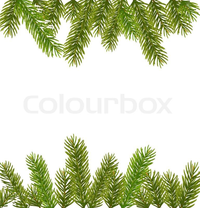 weihnachtsbaum filialen vektorgrafik colourbox. Black Bedroom Furniture Sets. Home Design Ideas