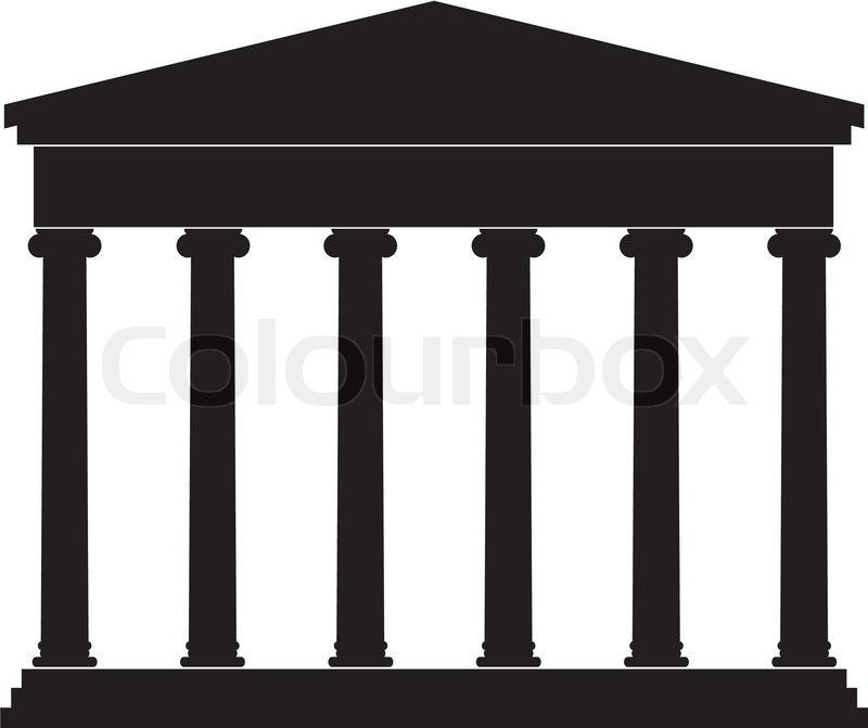 Architectural Element Portico Colonnade An Ancient