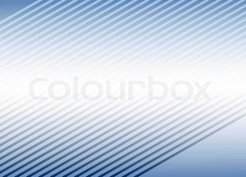 Blue Background Template For Business Card Stock Vector Colourbox
