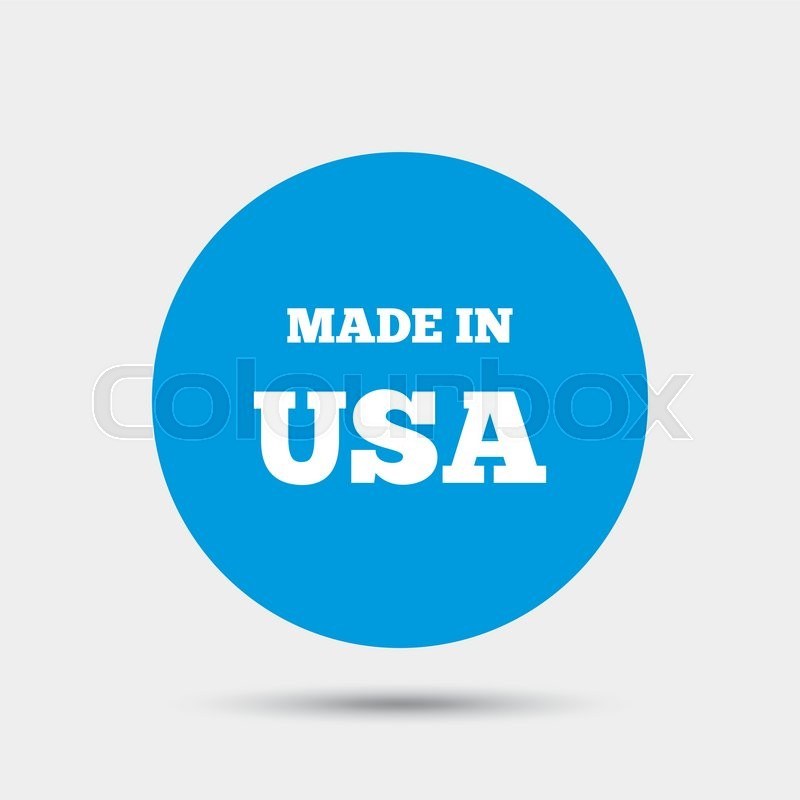 Made In The Usa Icon Export Production Symbol Product Created In