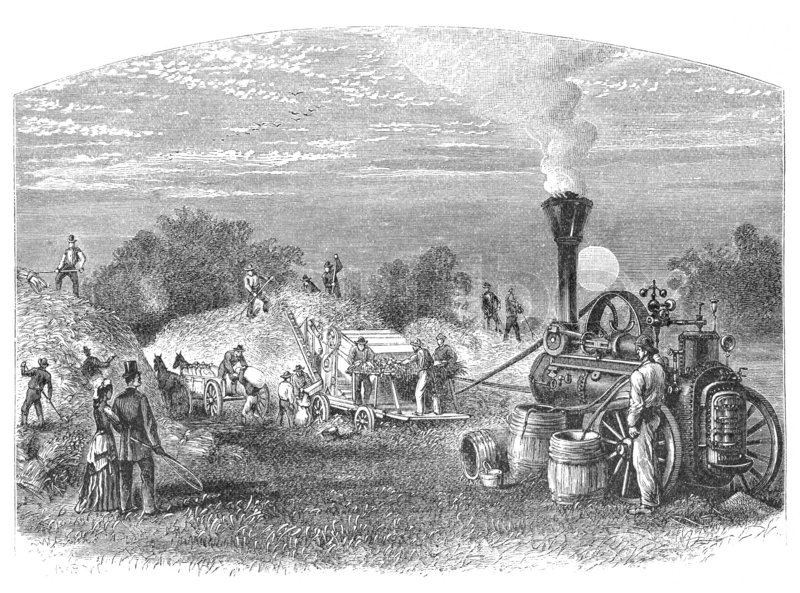 agricultural revolution britain Transcript of the agricultural revolution advantages of land enclosures early 1700's britain was mainly an agricultural country goods such as clothes were made in houses under a system called domestic industry.