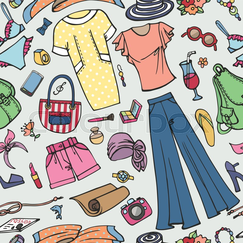 3f8bc1e1ab4b Stock vector of  Fashion illustration