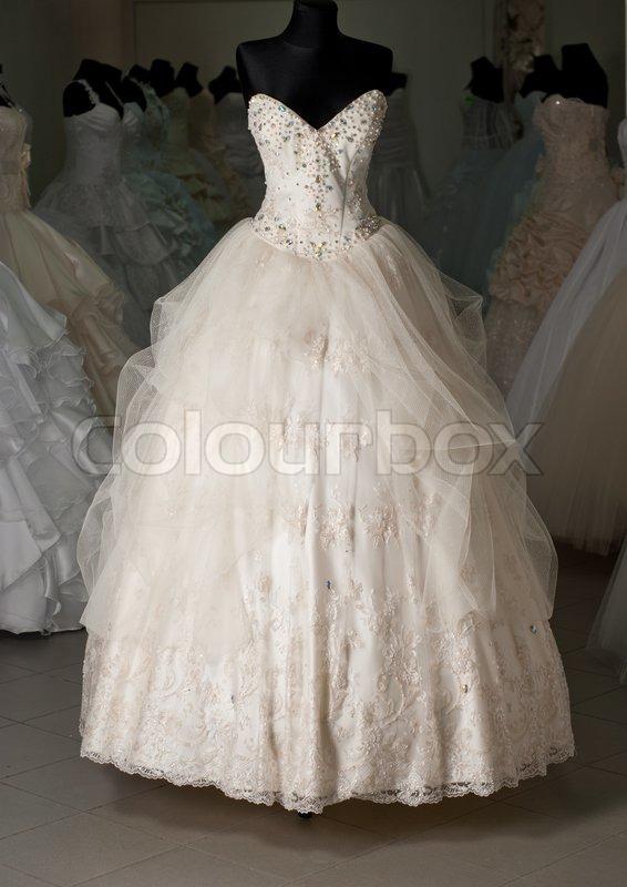 Wedding Dress Shop With Many Objects Stock Image Colourbox,Wedding Dress Makers Sydney