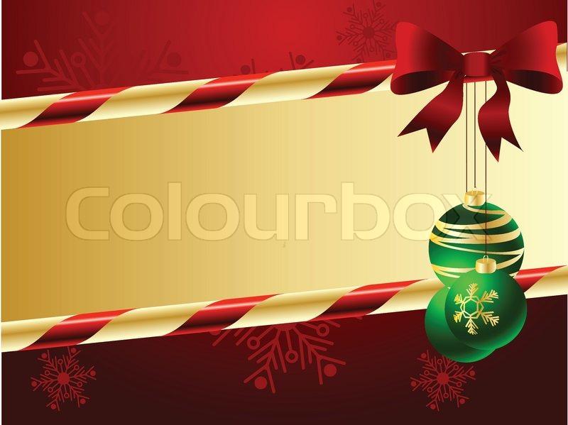 weihnachten und neujahr hintergrund vektorgrafik colourbox. Black Bedroom Furniture Sets. Home Design Ideas