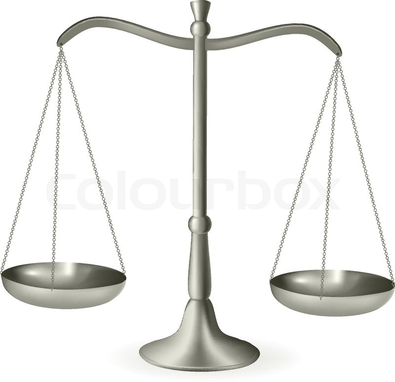 Gerechtigkeit Waage