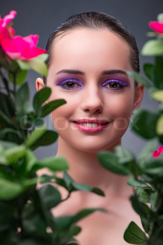 Stock foto af 'make-up, spa, glamour'