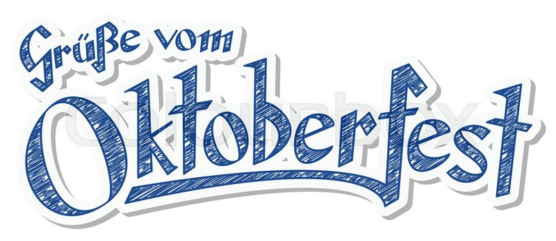 Blue and white header with scribble pattern and text greetings from blue and white header with scribble pattern and text greetings from oktoberfest 2016 in german stock vector colourbox m4hsunfo