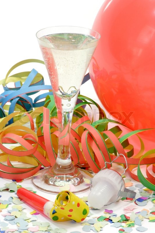 champagneparty balloons